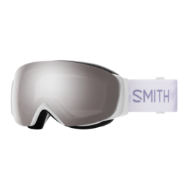 SMITH I/O MAG S Asian Fit White Floral w/Chromapop Sun Platinum Mirror and Storm Rose Flash