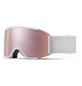 SMITH SQUAD MAG White Vapor w/Chromapop Rose Gold Mirror and Storm Rose Flash