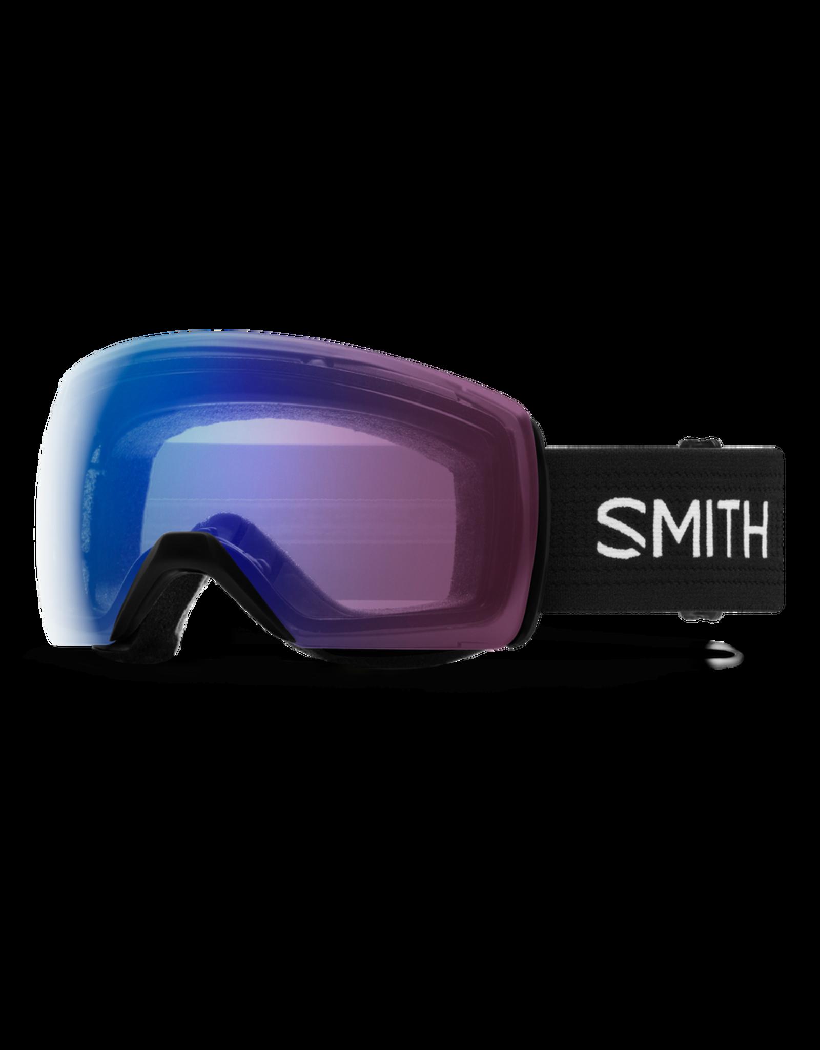 SMITH SKYLINE XL  BLACK PHOTO ROSE FLASH