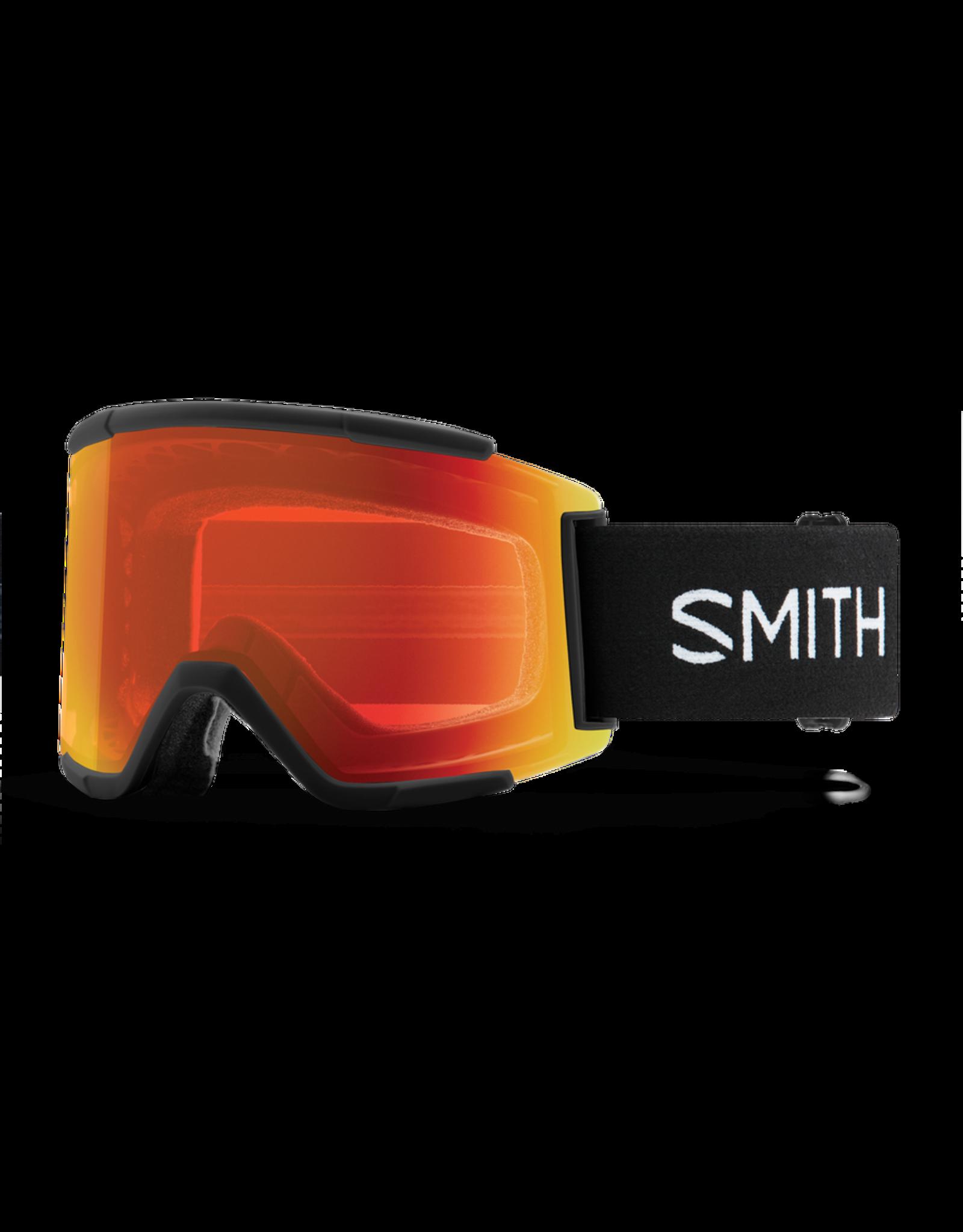 SMITH SQUAD XL BLACK EVERYDAY RED MIRROR W21
