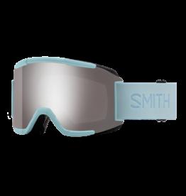 SMITH SQUAD Polar Blue w/Chromapop Sun Platinum Mirror and Yellow