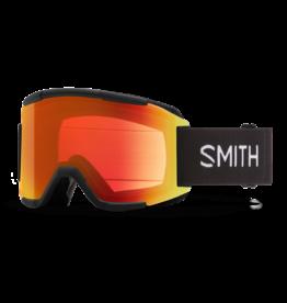 SMITH SQUAD Black w/Chromapop Everday Red Mirror and Yellow