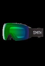 SMITH I/O MAG Black w/Chromapop Green Mirror and Chromapop Storm Rose Flash