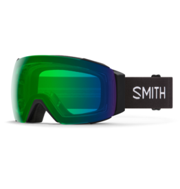 SMITH I/O MAG Black w/Everyday Green Mirror and Chromapop Storm Rose Flash