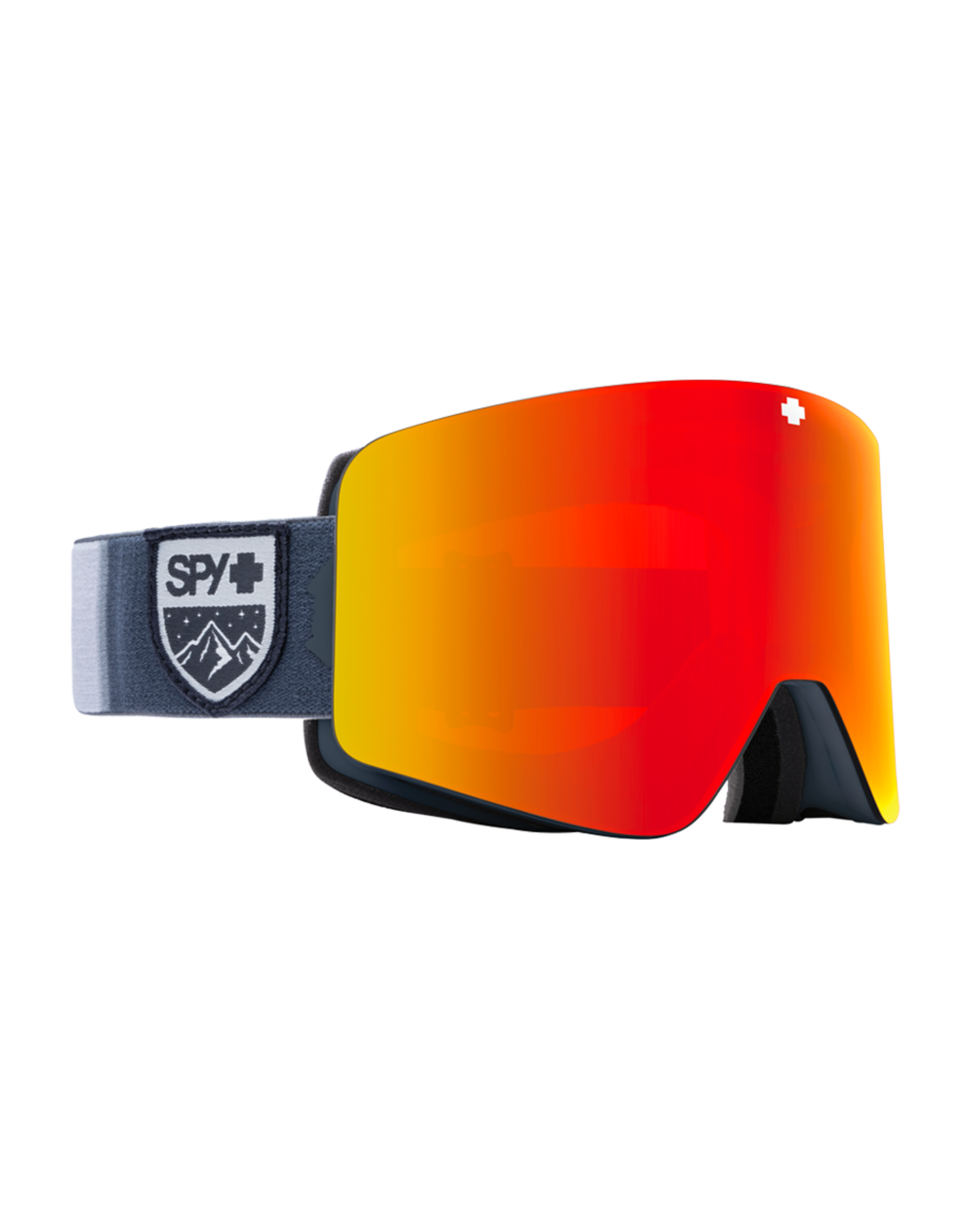 SPY Marauder Colorblock Gray w/HD Plus Bronze /Red Spectra Mirror and HD LL Yellow/Green Spectra Mirror