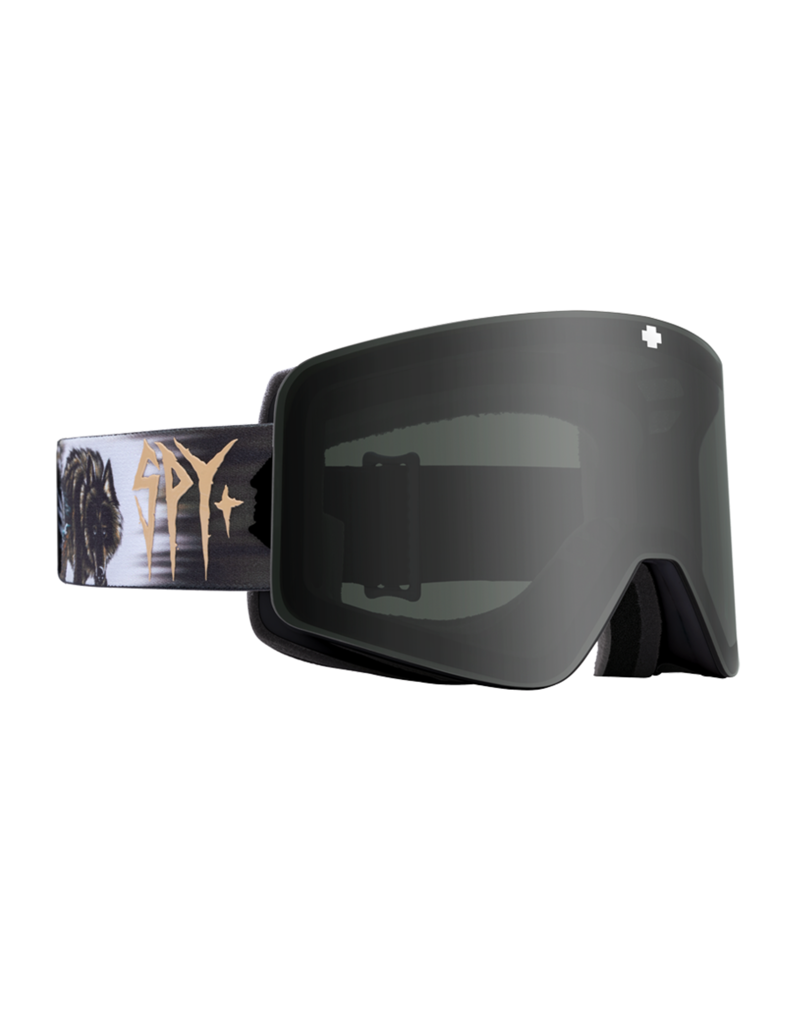 SPY Marauder Damasso Sanchez w/HD Plus Gray Green/Black Spectra Mirror and HD Plus LL Persimmon/Silver Spectra Mirror