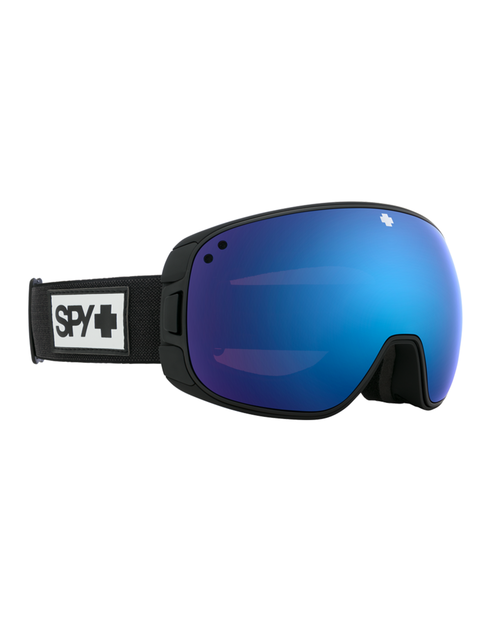 SPY Bravo Matte Black w/HD Plus Rose/Dark Blue Spectra Mirror and HD Plus LL Yellow/Green Spectra Mirror
