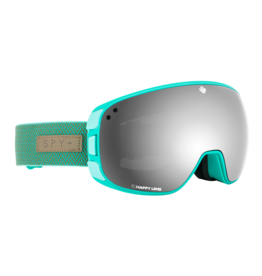 SPY Bravo Herringbone Mint w/HD Plus Gray Green /Silver Spectra Mirror and HD Plus LL Yellow/Green Spectra Mirror