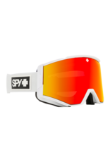 SPY Ace Matte White w/HD Plus Bronze/Red Spectra Mirror and HD Plus LL Yellow/Green Spectra Mirror