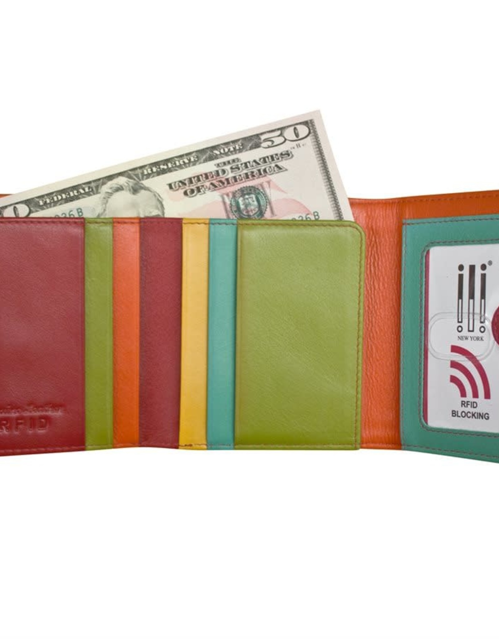 Tri Fold Wallet Citrus