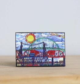 Magnet Three Bridges Portland