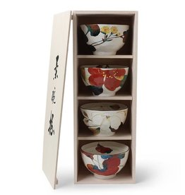 Rice Bowl Set Floral Fall