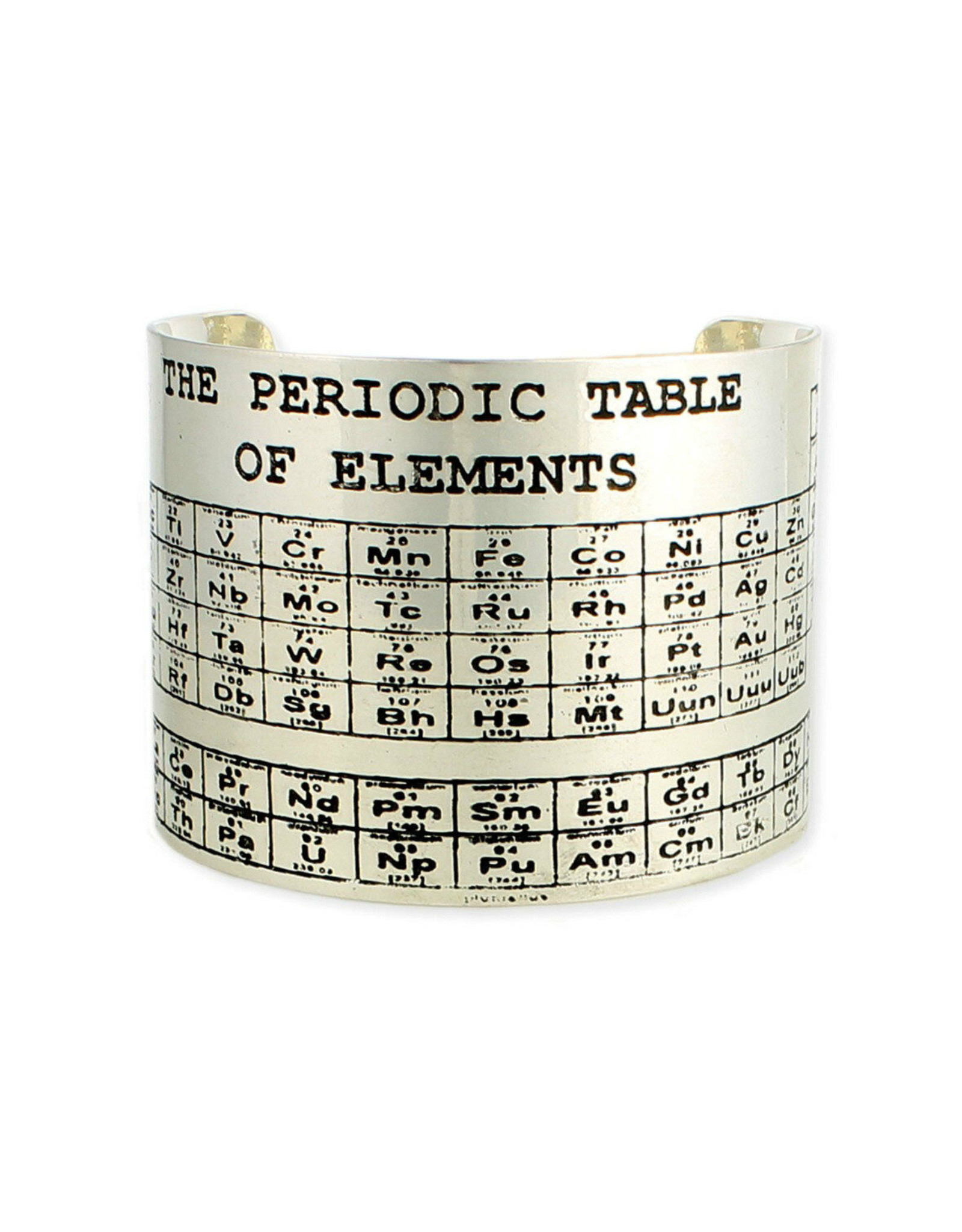 BR Periodic Table silver