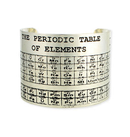 Periodic Table Bracelet Silver