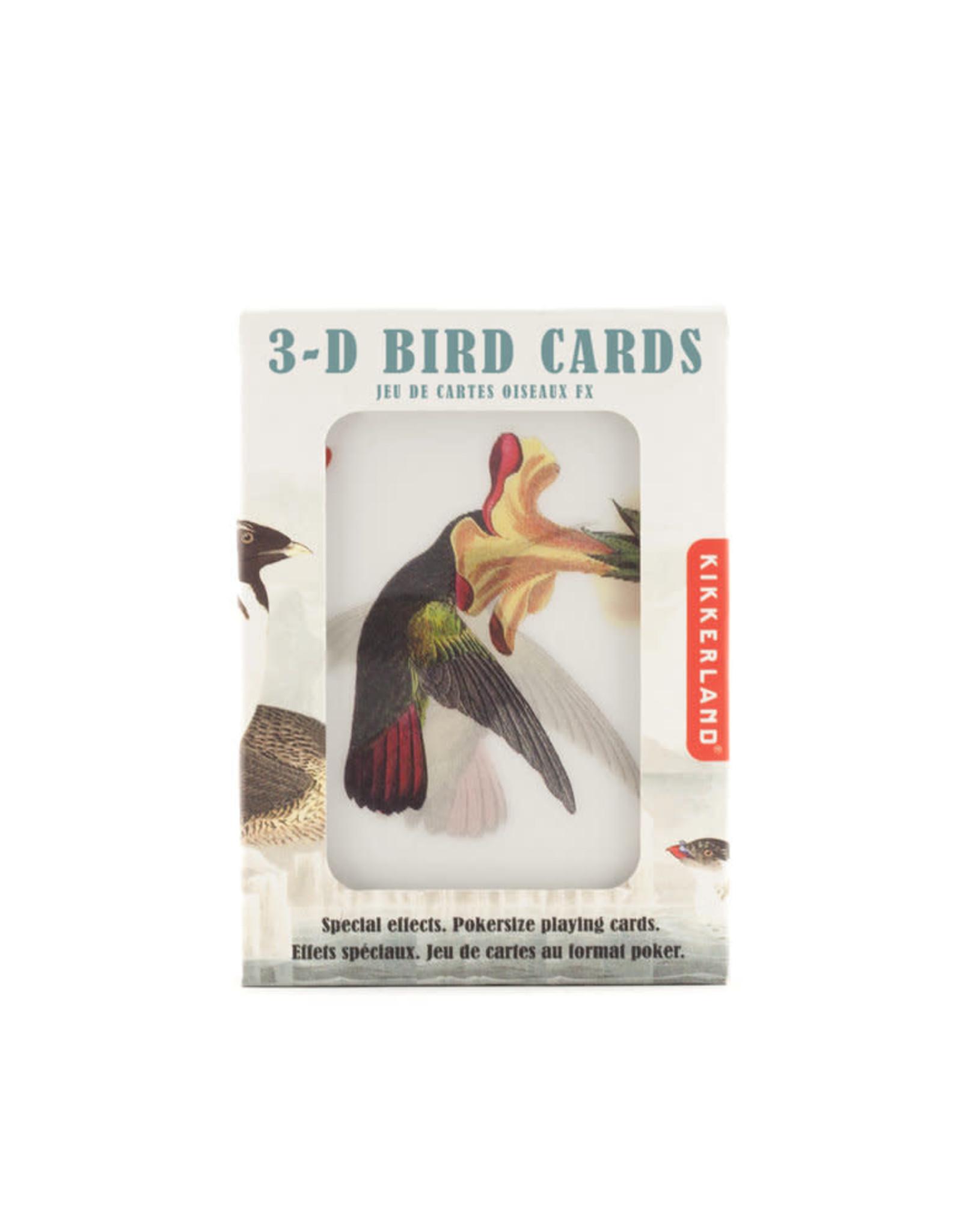 Playing Cards 3D Bird