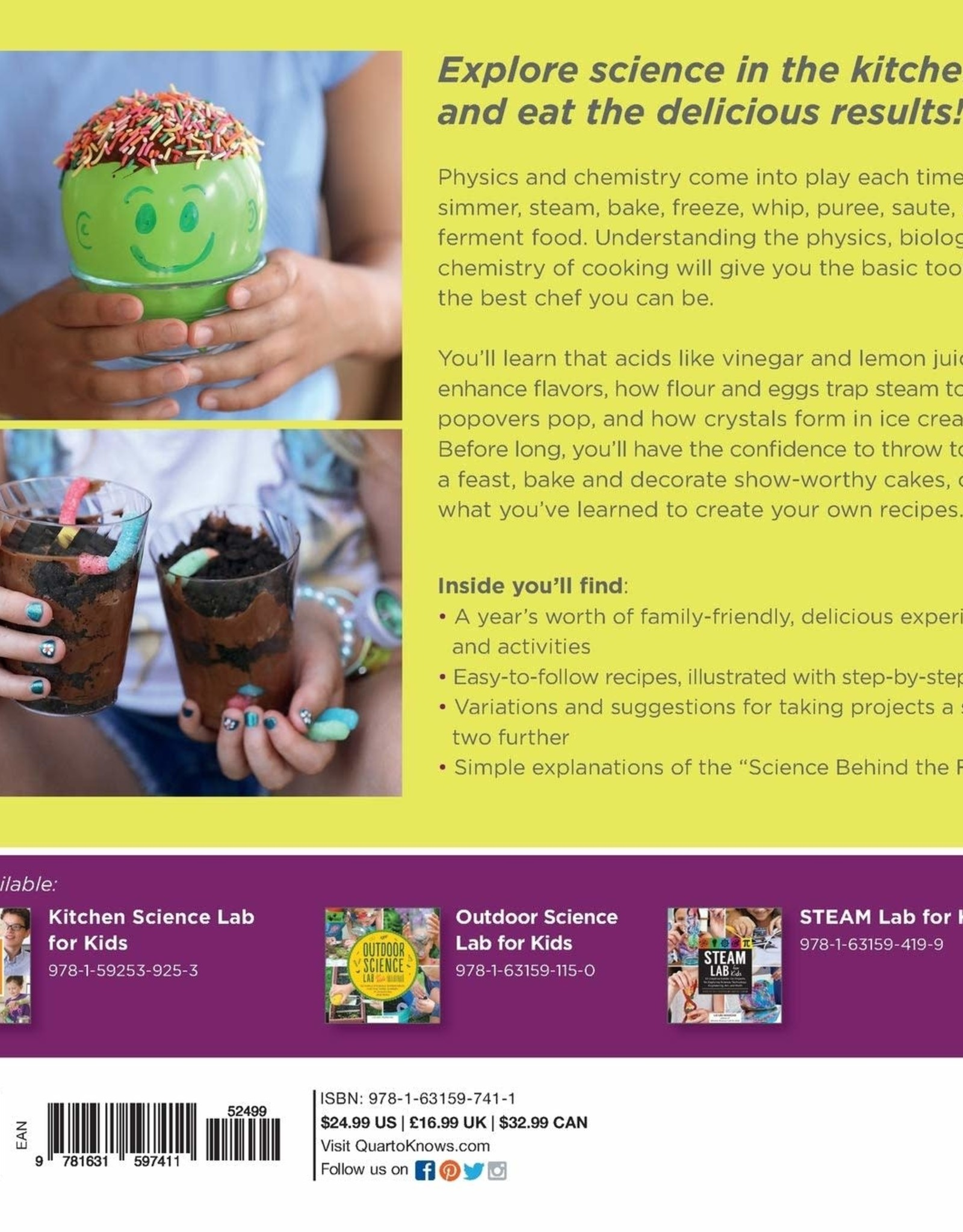 Kitchen Science Lab For Kids: Edible Edition
