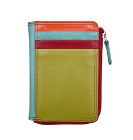 Wallet Side Zip Citrus
