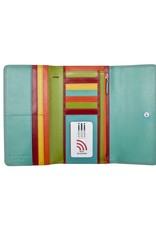 Spacious Flap Wallet Citrus