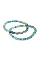 Rainbow Coil Stretch Bracelet