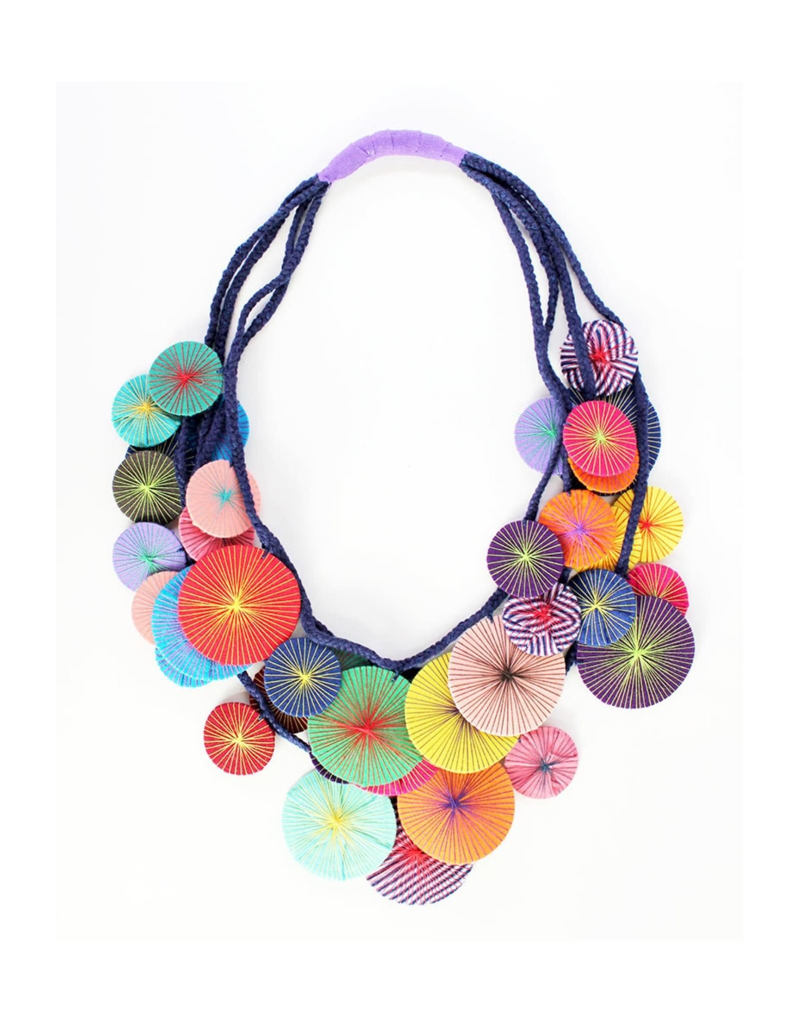 Necklace Platillos Saucers Multi