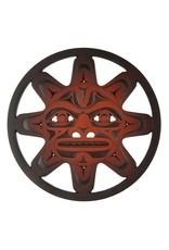 Sun Mask Trivet