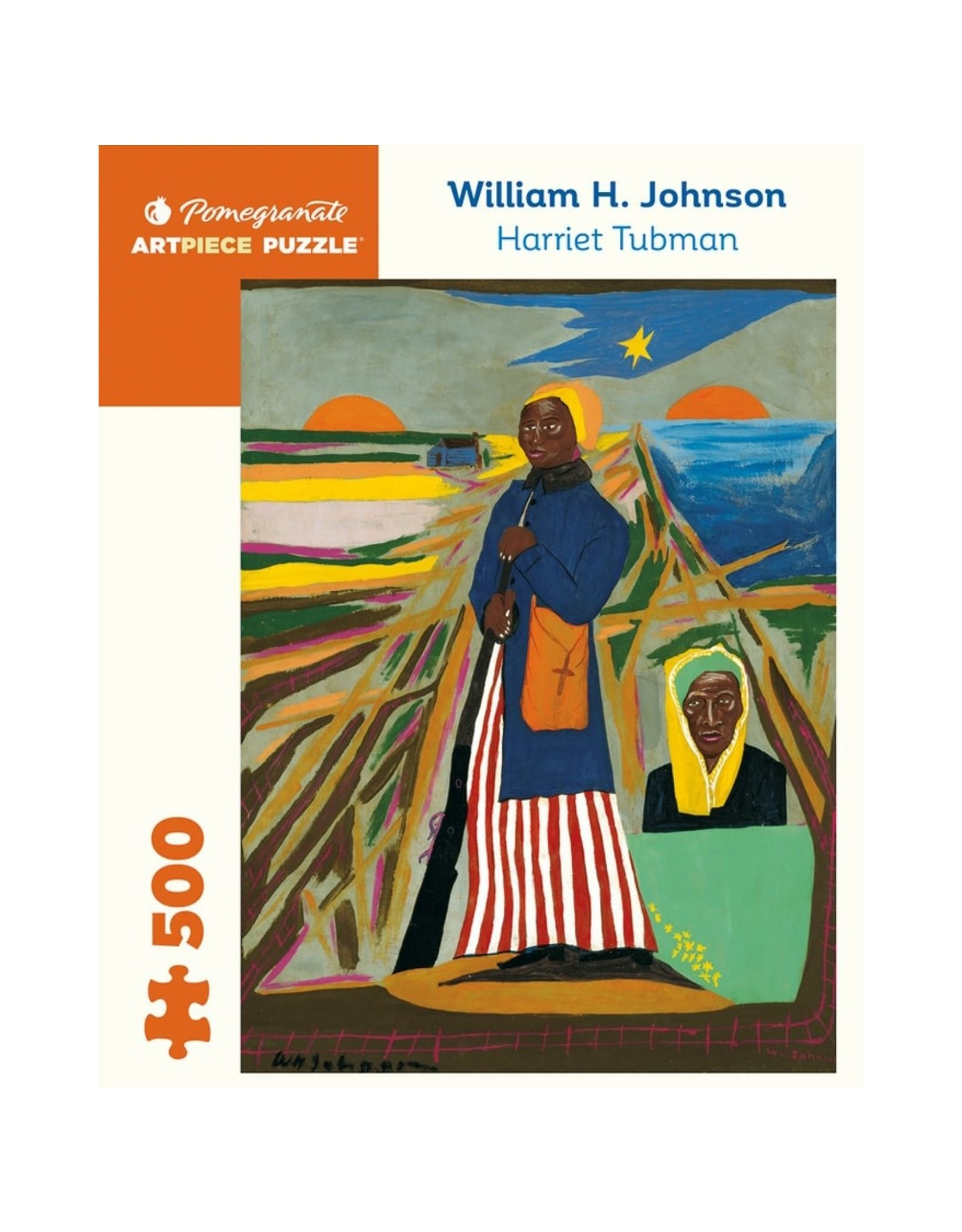 Puzzle William H. Johnson Harriet Tubman