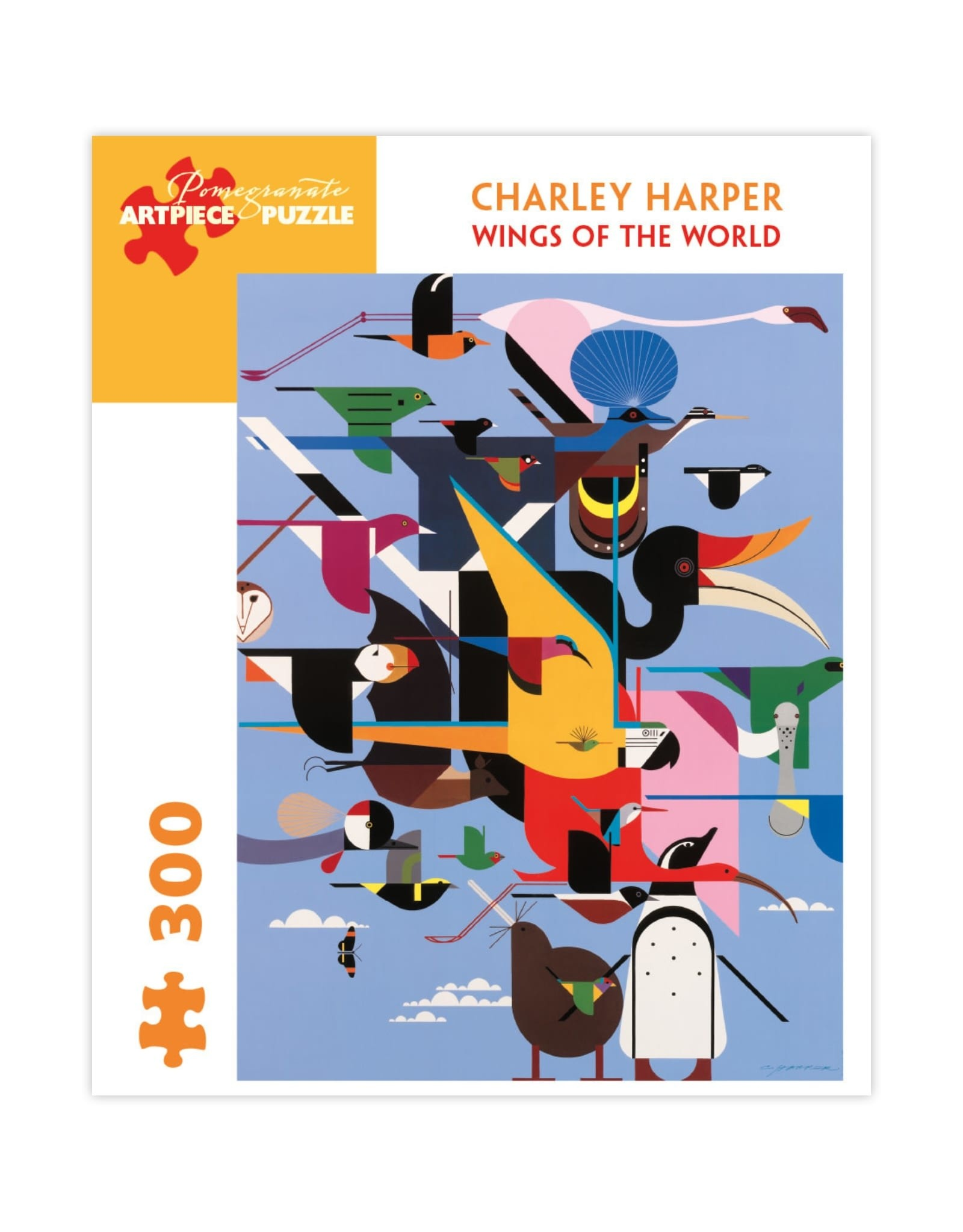 Puzzle Charley Harper Wings of The World
