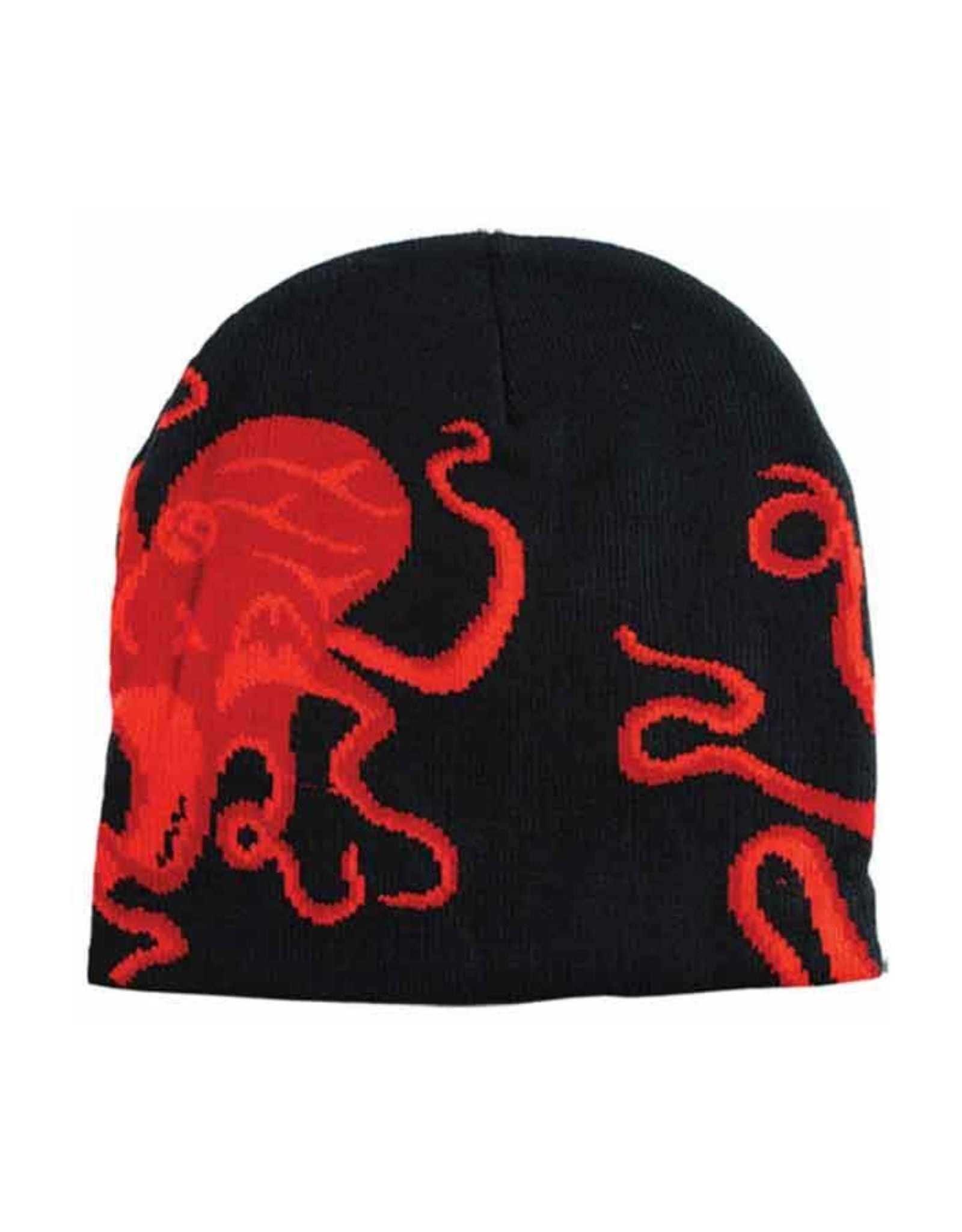 Red Octopus Hat