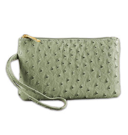 Vegan Leather Wristlet