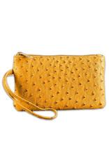 Vegan Leather Wristlet