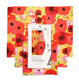 Zwrap Three Pack Painted Poppies