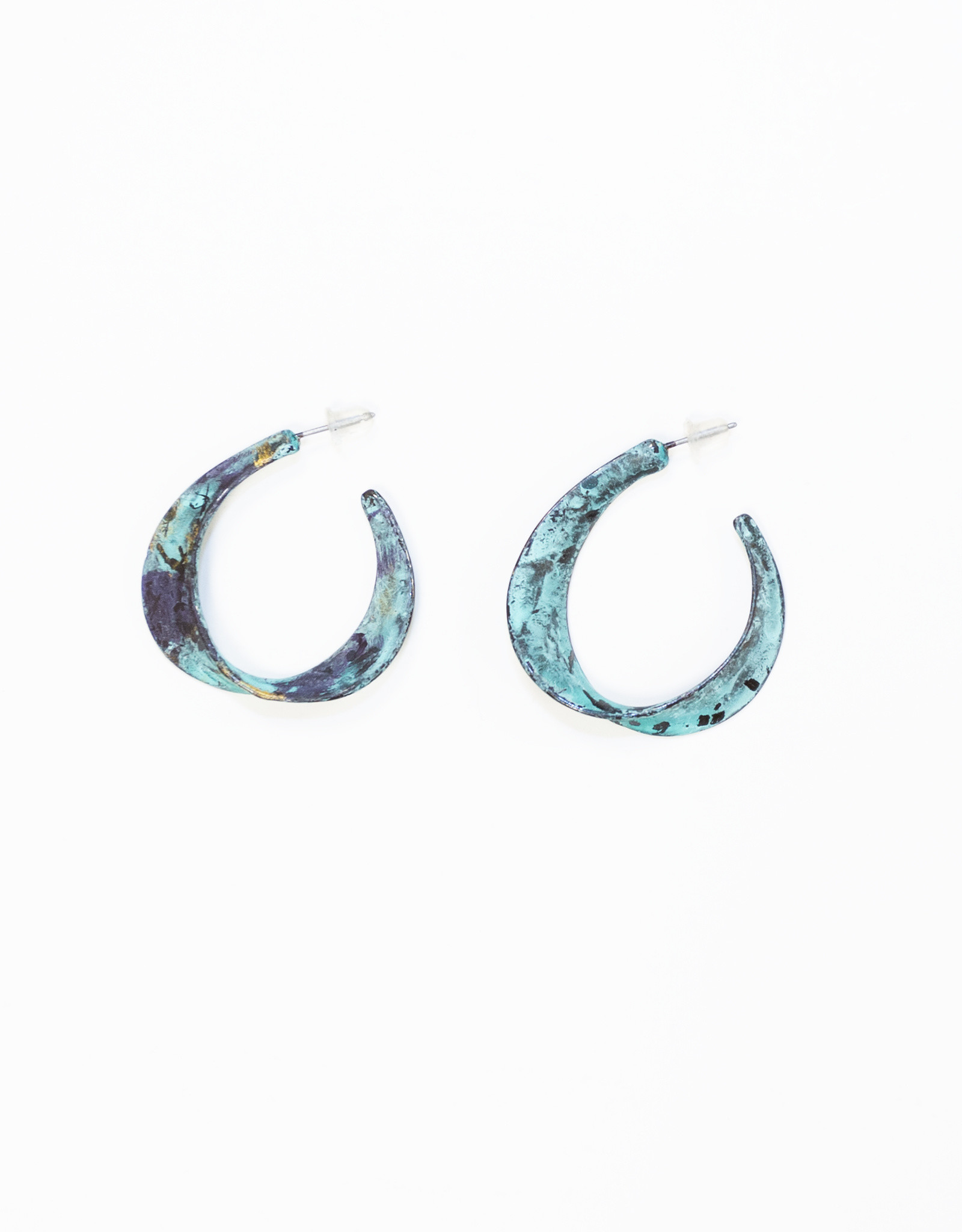 Twisted Loop Earrings