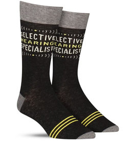 Socks Selective Hearing