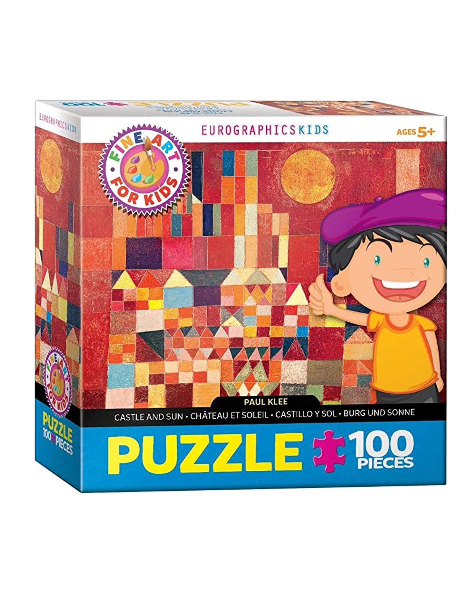 Puzzle Castle And Sun