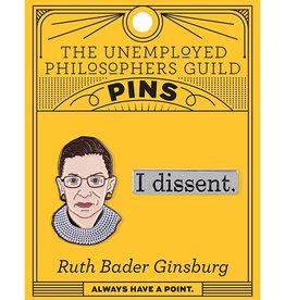 RBG I Dissent Pin