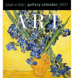 Art Page A Day Calendar 2021