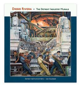 2021 Calendar Diego Rivera: The Detroit Industry Murals