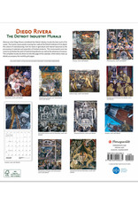 2021 Calendar Diego Rivera: The Detroit Industry Murals