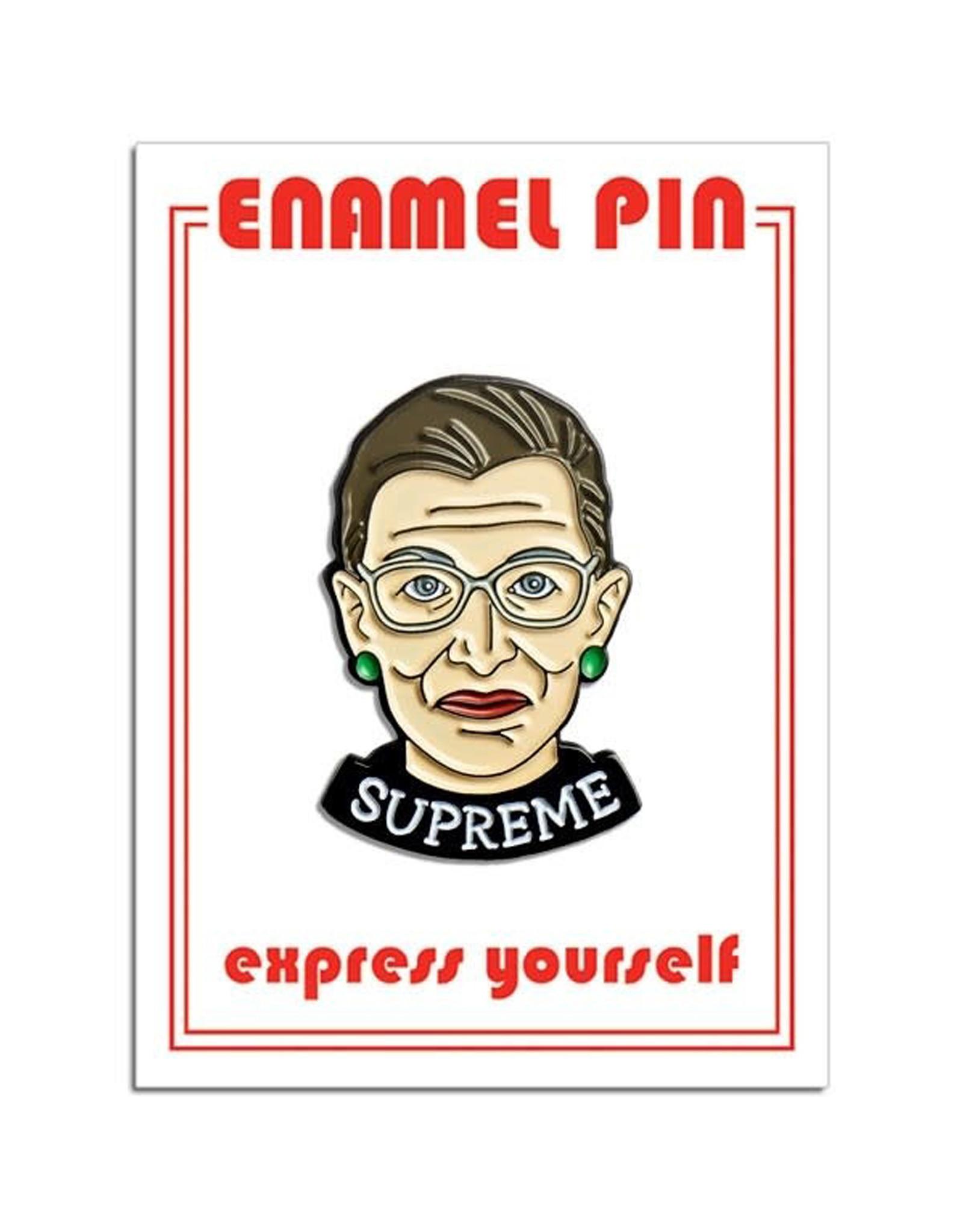 RBG Supreme Pin