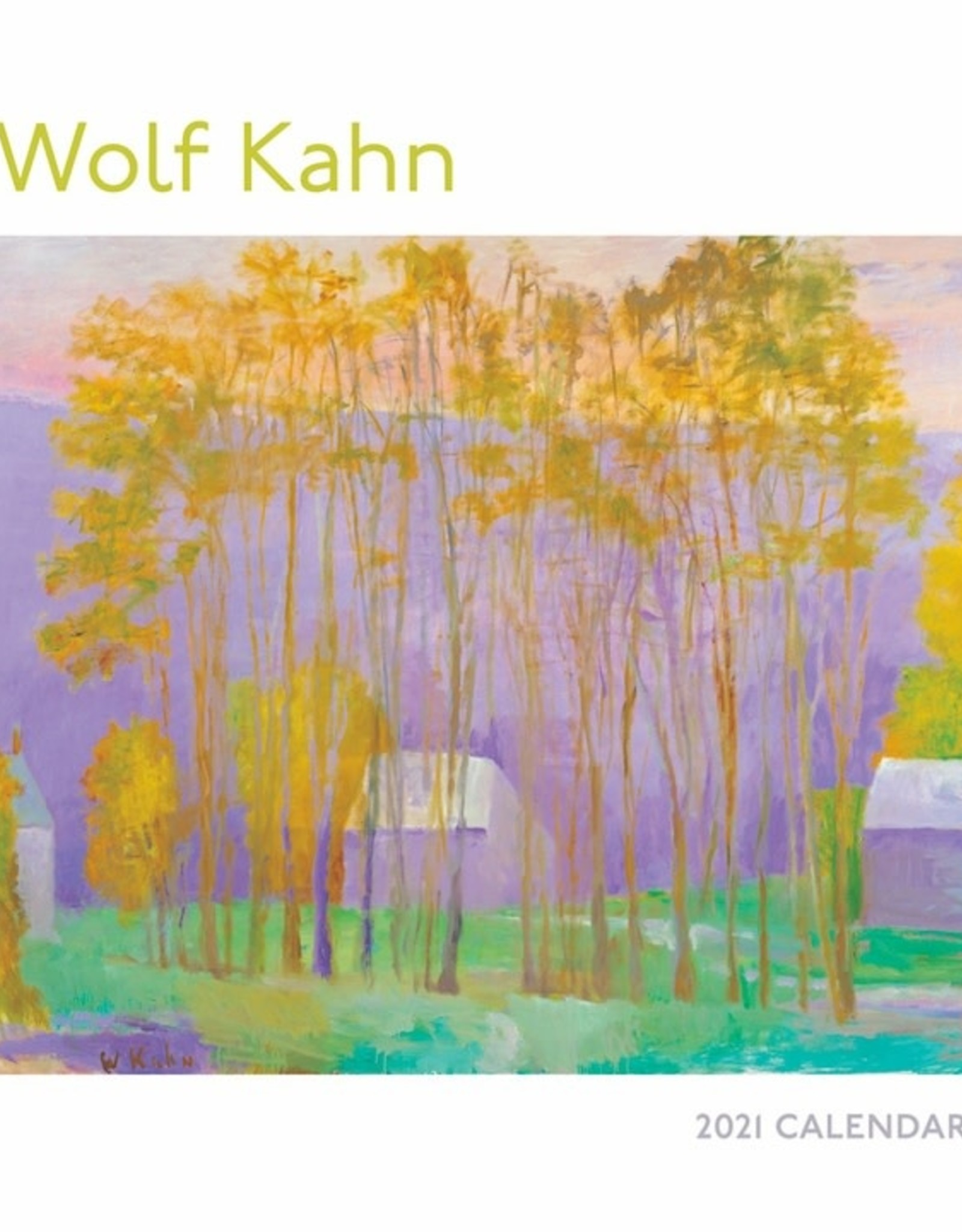 2021 Calendar Wolf Kahn Mini