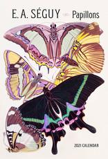 2021 Calendar E.A. Seaguy: Papillons
