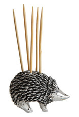 Pewter Hedgehog Toothpick Holder