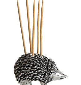 Pewter Toothpick Holder Hedgehog