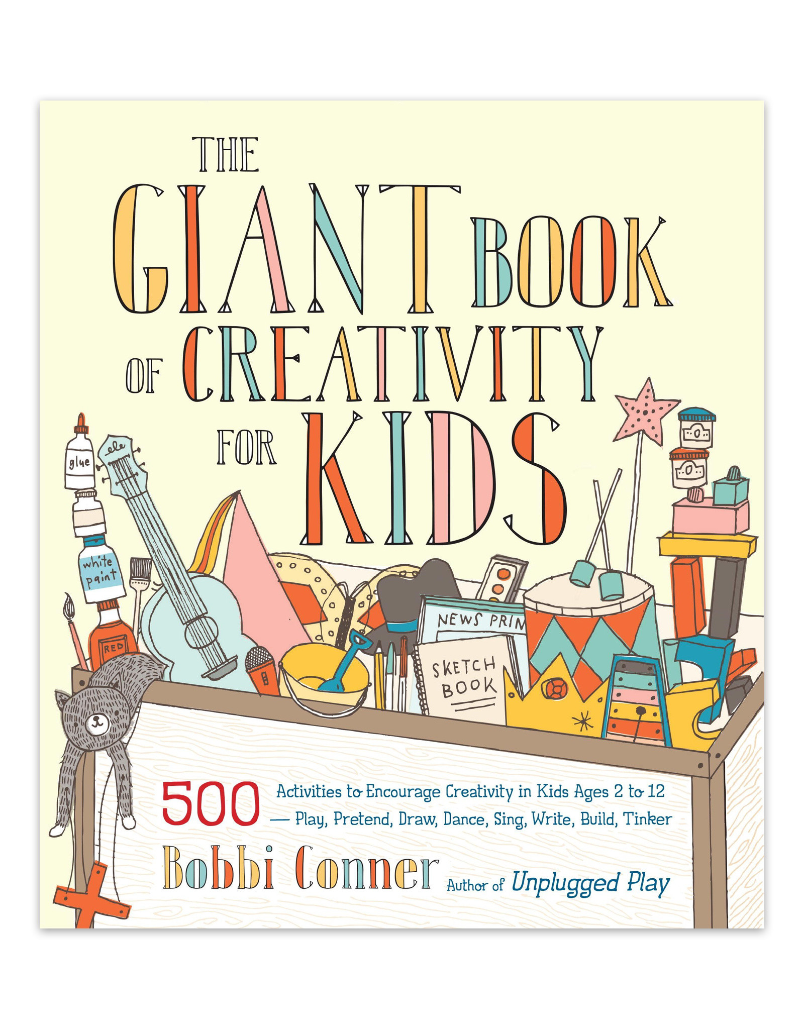 Giant Book of Creativity for Kids