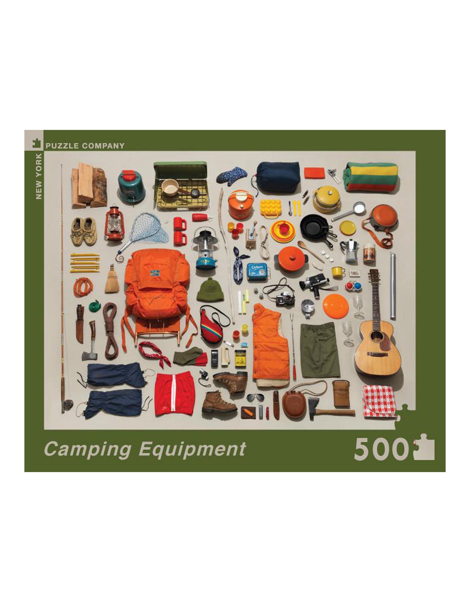 Puzzle Camping Equipment