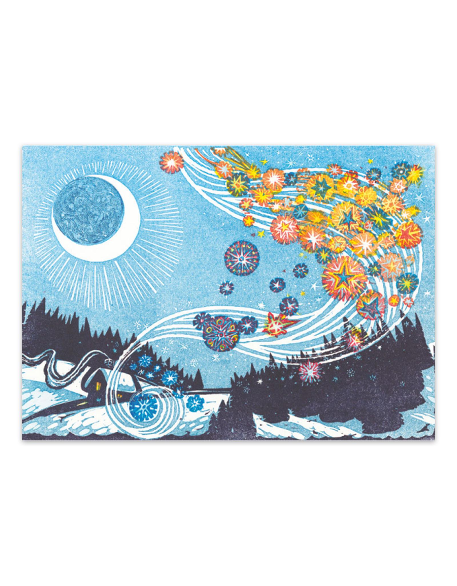 Cards Falling Stars