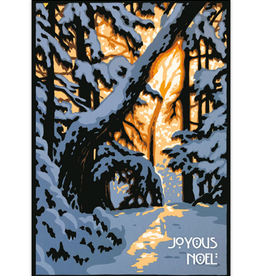 Cards Winter Woods