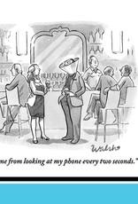 Phone Cone Napkins
