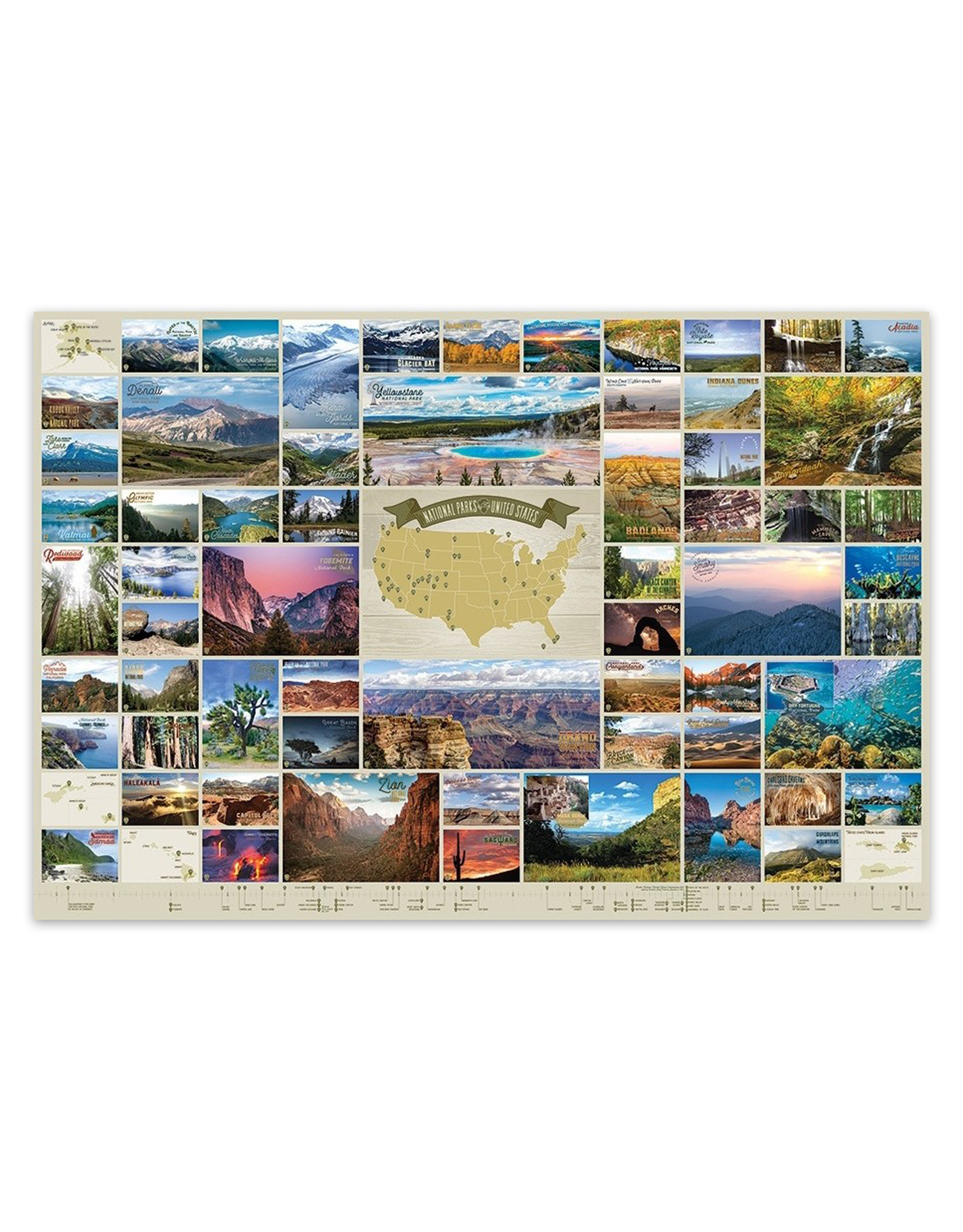 National Parks of the United States Puzzle