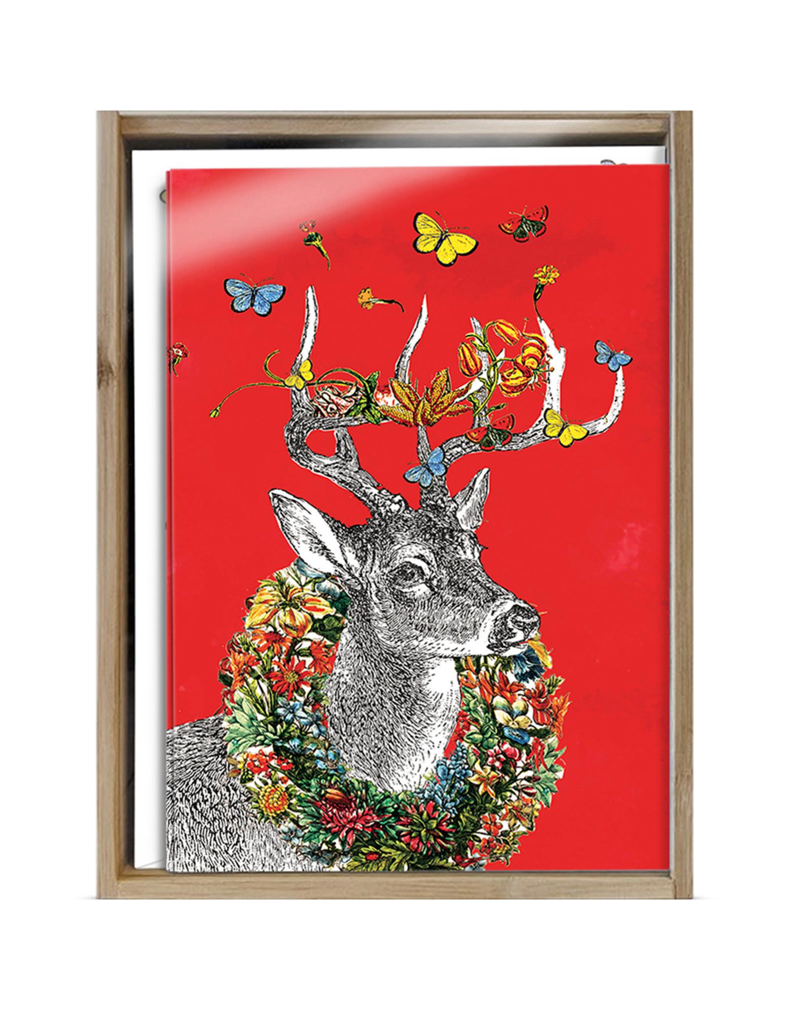 Boho Deer Boxed Cards